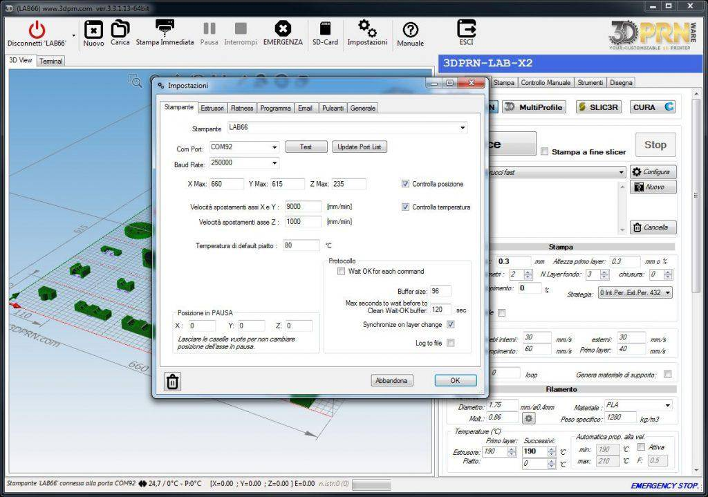 software per stampante d