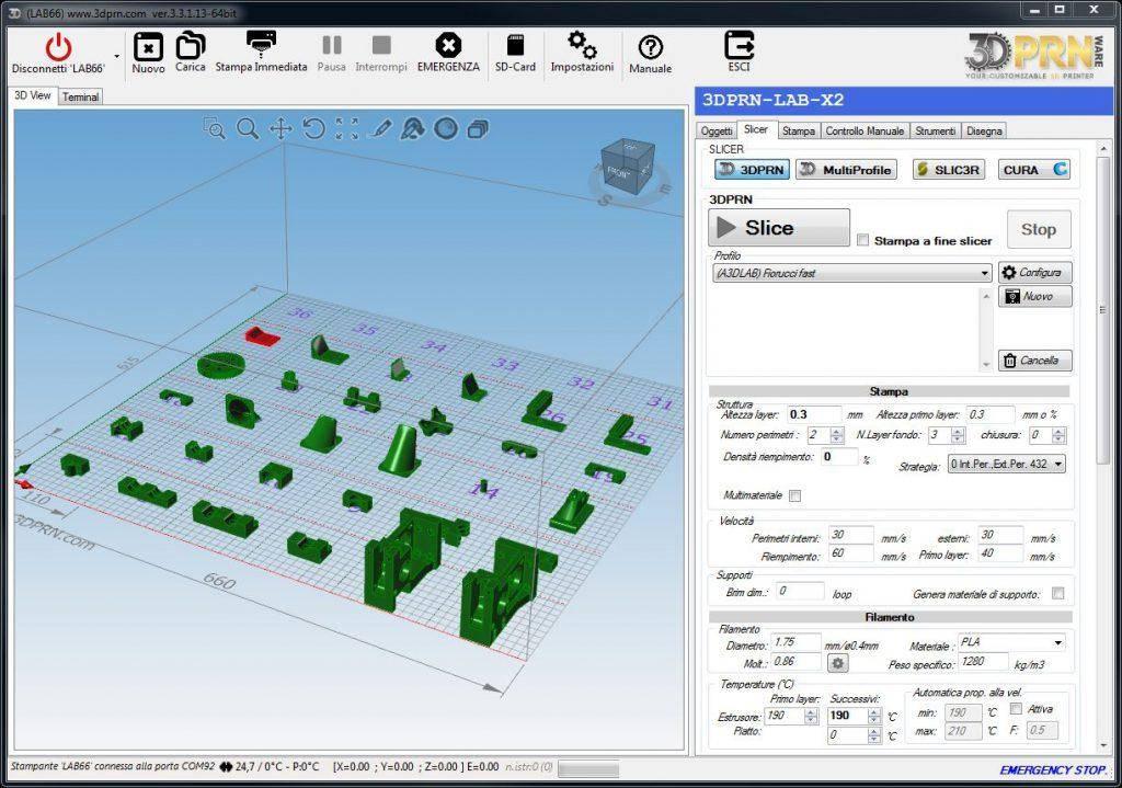 software per stampante 3D coda prodotti 1024x719