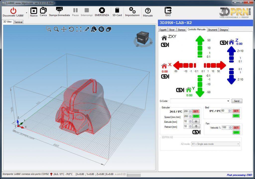 software per stampante d Controllo completo