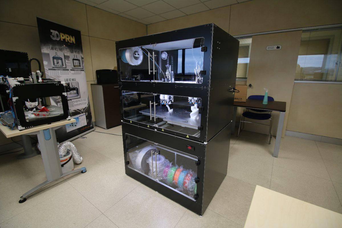 stampante 3d professionale LAB CLOSED 2
