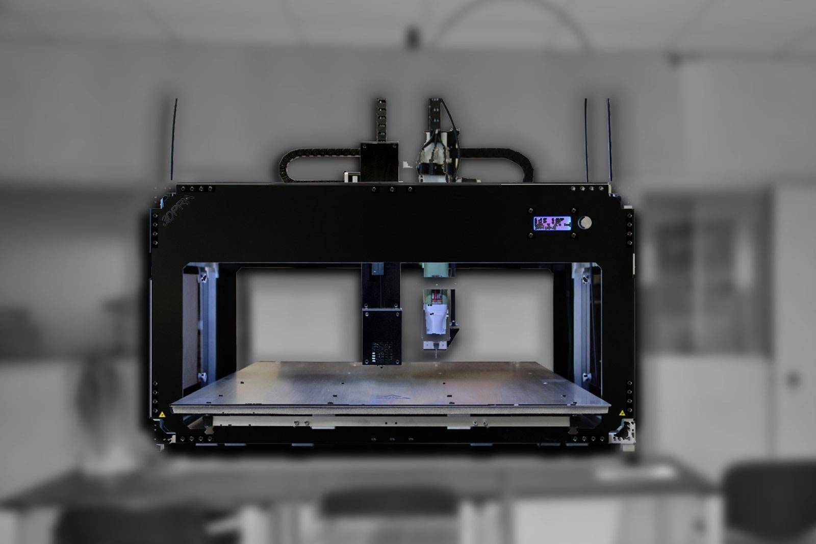 stampante professionale 3D tips x2 mill 1 - Stampanti 3D Professionali